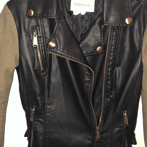 BCBGeneration Jackets & Blazers - BCBGeneration Leather Jacket